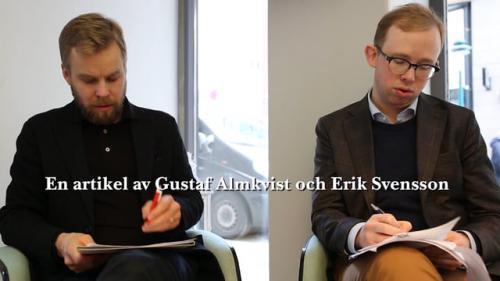 "Gustaf Almkvist och Erik Svensson om artikeln ""Orsakande, tillräknande och luftstrupstransplantationer"""
