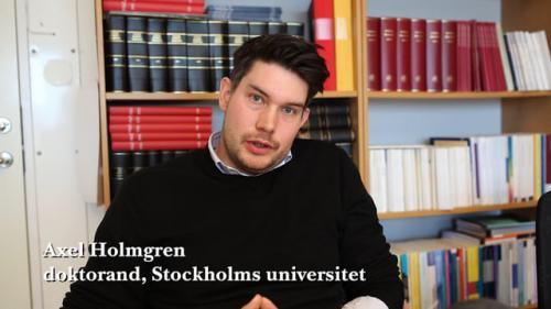"""Axel Holmgren om artikeln """"Om den s.k. ungdomsreduktionen"""""""