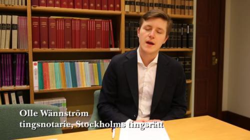 """Olle Wännström om artikeln """"En fullmaktslära i förändring [...]"""""""