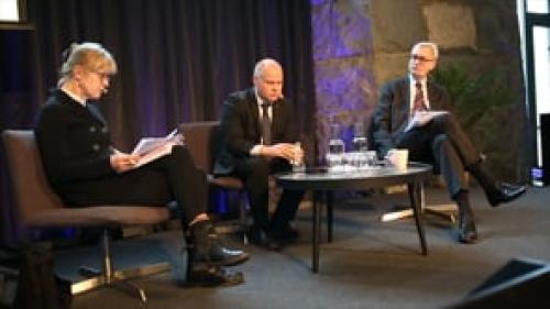 Symposium om lagberedning - del 8 - justitieministern